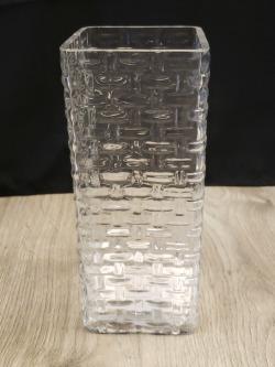 Weave Design Square Vase