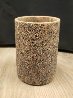 Rustic Ceramic Cylinder