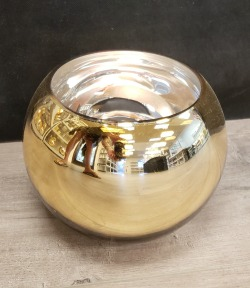 Smooth Finish Metallic Bowl