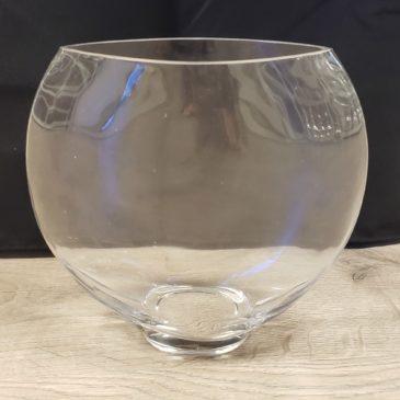 Oval Glass Vase – Medium