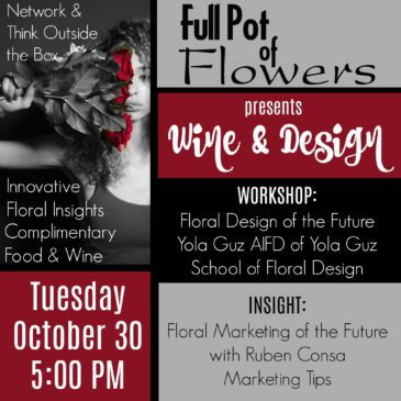 Wine & Design October 30th at Our Showroom!